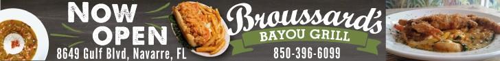 Broussards online ad