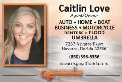 Caitlin Love ad